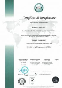 ISO 18001 UKAS